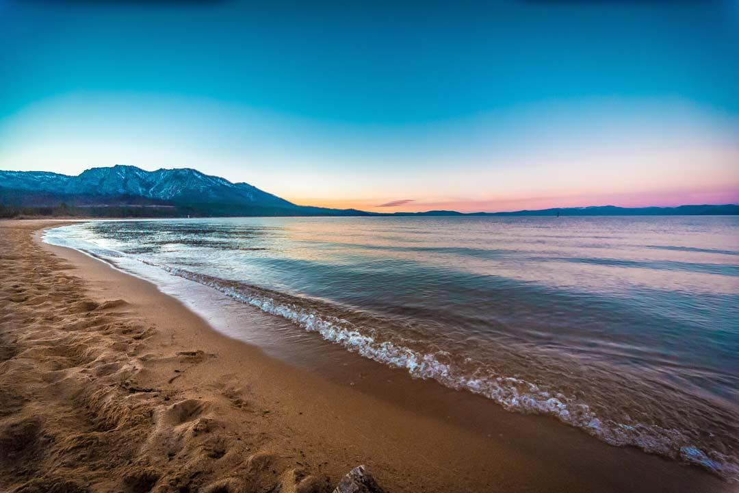 Kiva Beach Sunset